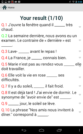 免費教育App|French Practice Test PRO|阿達玩APP