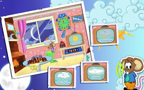 Weather and Clock for Kids- screenshot thumbnail