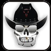 Cowboy Skull doo-dad