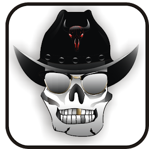 Cowboy Skull doo-dad download