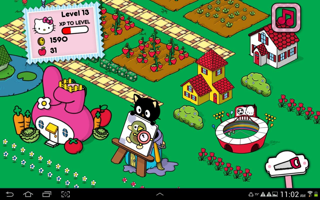 Hello Kitty Happy Town- screenshot