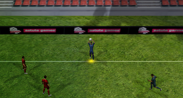Real 3D Soccer - screenshot