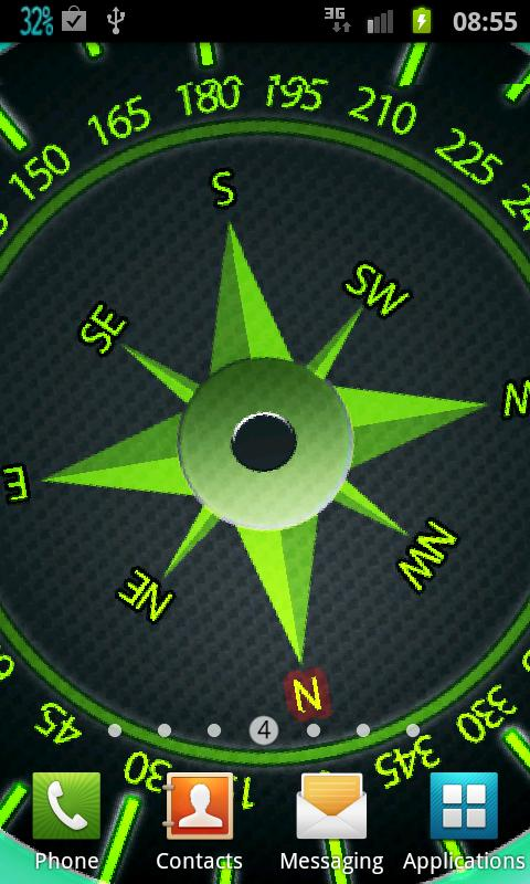 Easy Compass Live Wallpaper - screenshot