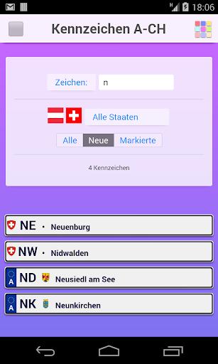 Autokennzeichen A-CH Umsonst