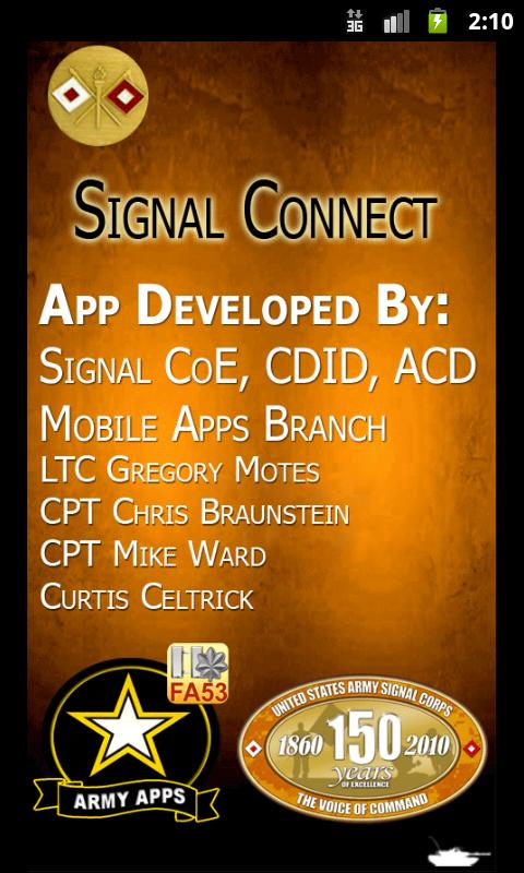 Signal Connect - screenshot