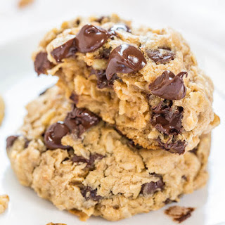 Loaded Oatmeal Chocolate Chip Cookies.