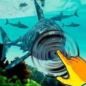 Shark Water Reef & Fish Touch icon