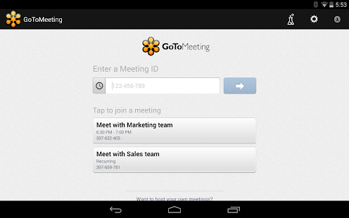 GoToMeeting Screenshot 26