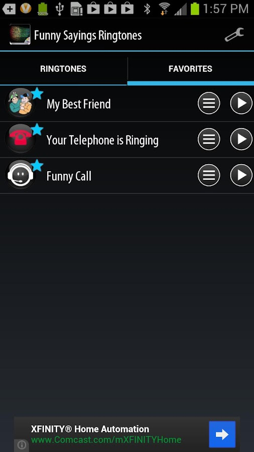 Funny Sayings Ringtones - screenshot