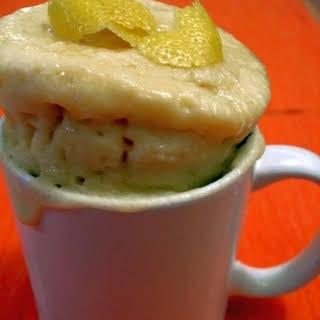 Lemon Cake in a Mug.