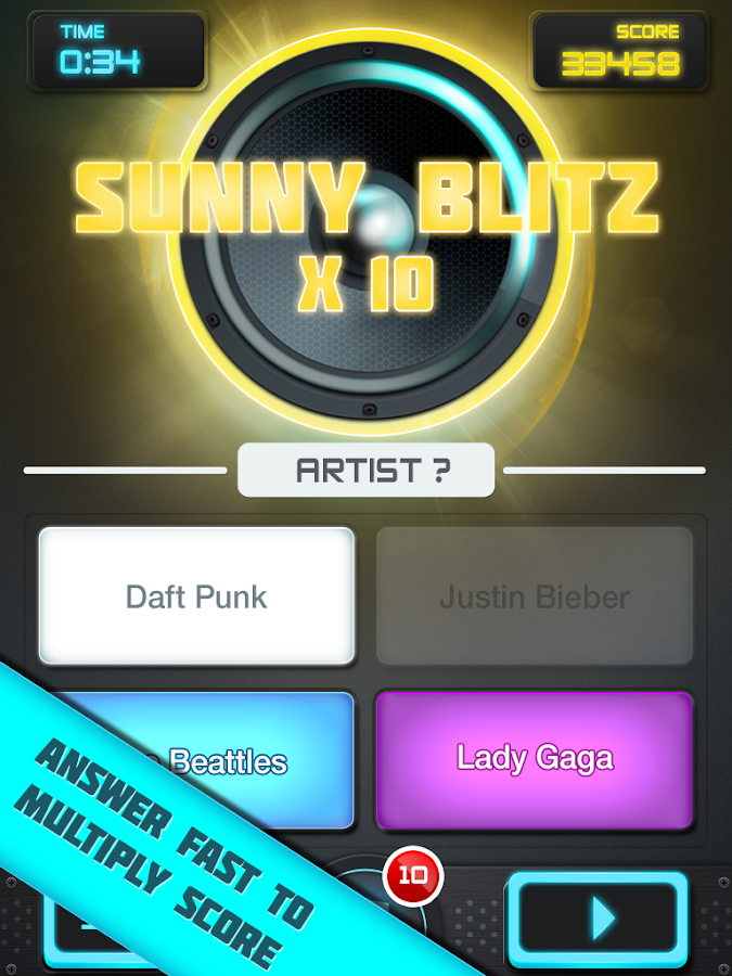 MusicUp - screenshot