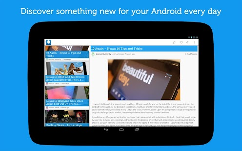 Drippler - Android Tips & Apps Screenshot 11