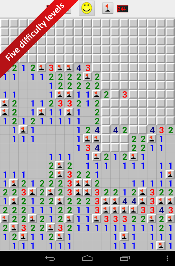 Minesweeper for Android- screenshot