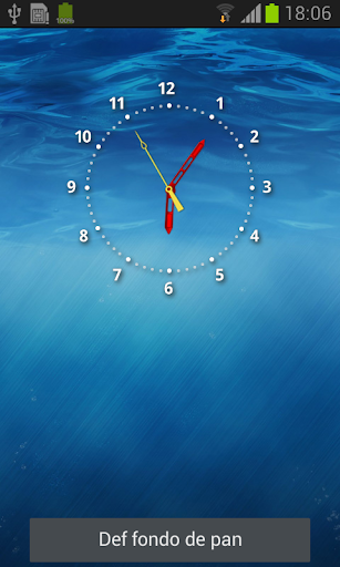 7Seven clock Live Wallpaper