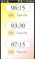 Screenshot of Zenriser - Gradual Alarm Clock