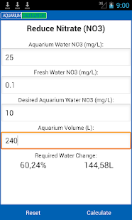Aquarium Calculator - screenshot thumbnail