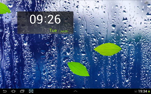 Rainy Day Live Wallpaper