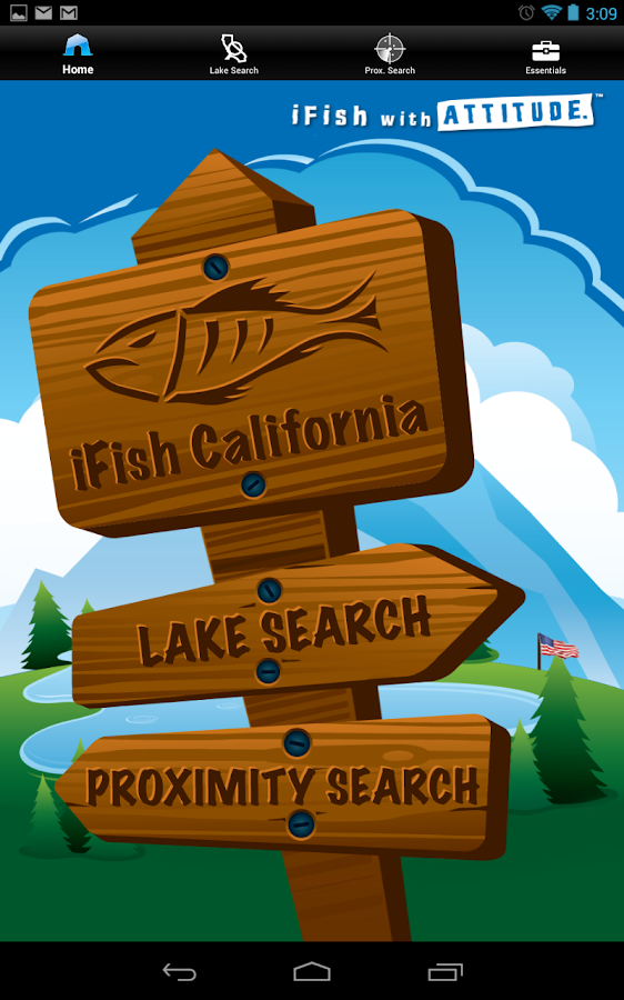 iFish California- screenshot