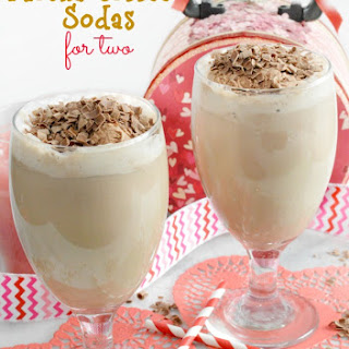 Mocha Coffee Sodas for Two