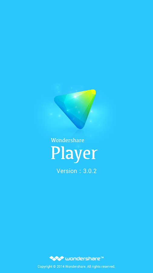 Wondershare Player ARMv6 Codec- screenshot