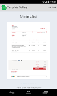 Zoho Invoice and Time Tracking - screenshot thumbnail