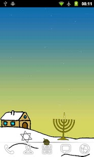 Hanukkah Live Wallpaper Free- screenshot thumbnail