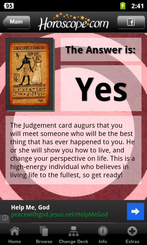 Yes Or No Tarot- screenshot