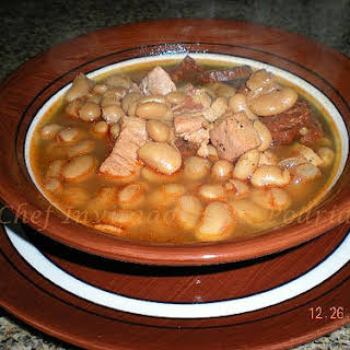 Mexican Pork and Beans.
