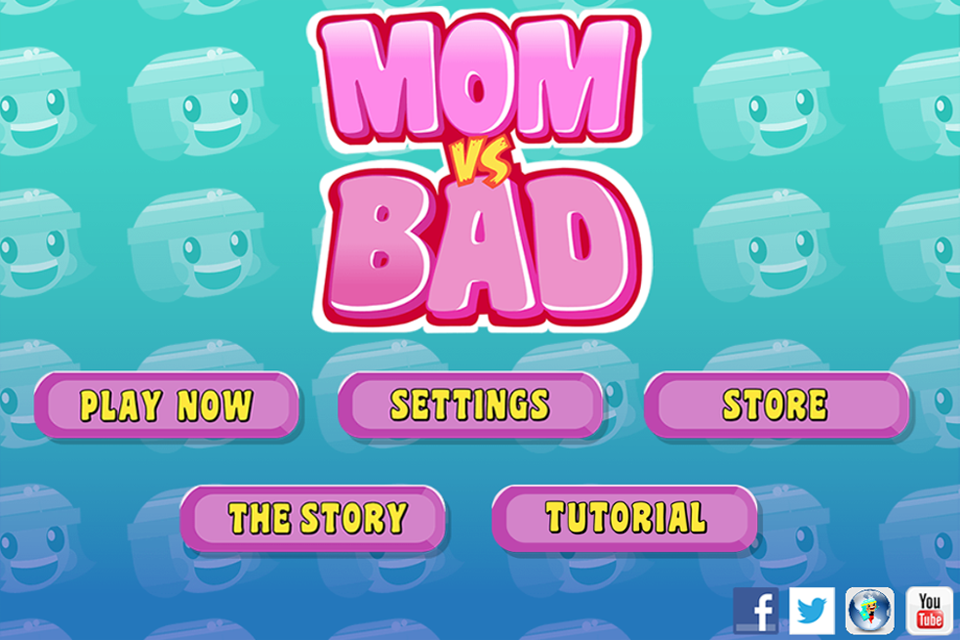 Mom vs Bad - screenshot