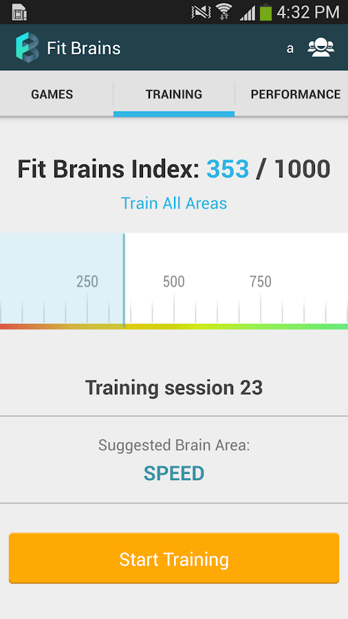 Fit Brains Trainer - screenshot
