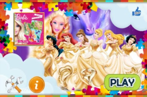 Barbie puzzle games - screenshot thumbnail