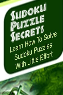 Sudoku Secrets Guide - screenshot thumbnail