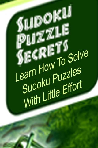 Sudoku Secrets Guide - screenshot
