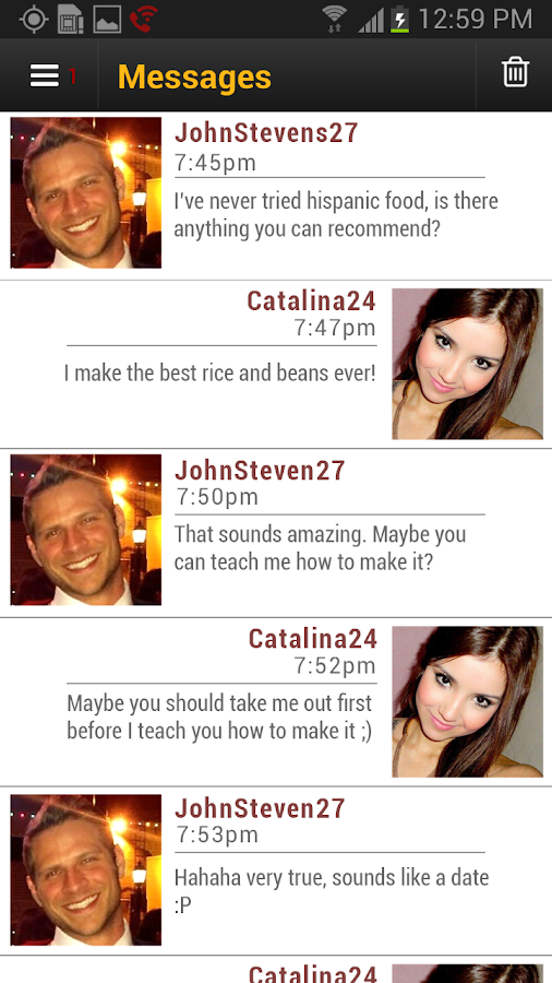 Caliente - Latin Dating- screenshot