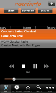 Concierto- screenshot thumbnail