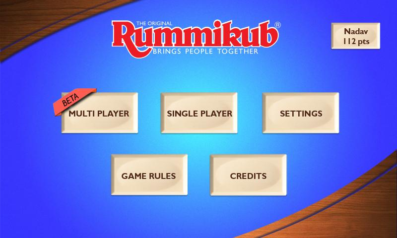 Rummikub - screenshot