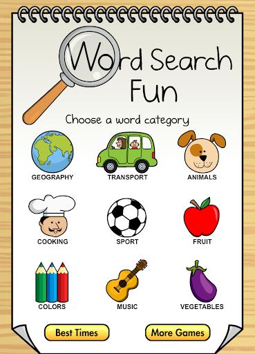 Word Search Fun HD Free
