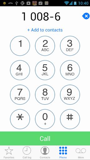 Dialer+ - Simple Clean Fast