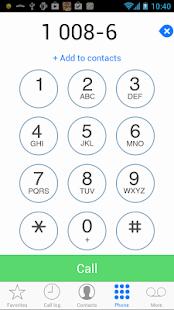 Dialer 8 - Simple Clean Fast