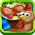 Chicken Hunt & Cooking Game icon