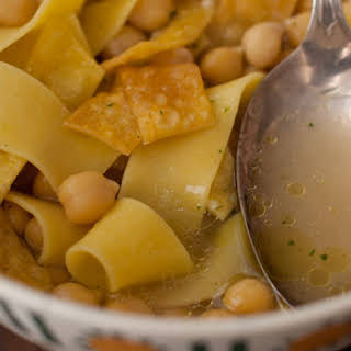 Ultimate Chickpea Noodle Soup.