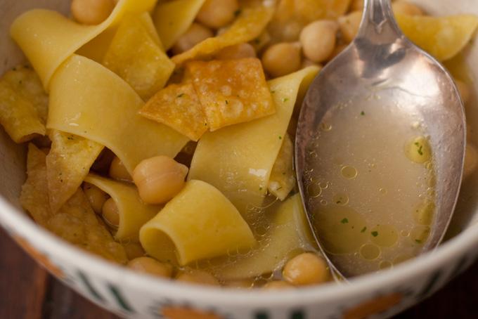 Ultimate Chickpea Noodle Soup Recipe
