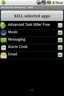 Task Killer - screenshot thumbnail