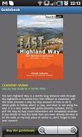 Screenshot of East Highland Way