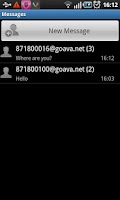 Screenshot of goava