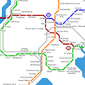 BUSAN METRO SUBWAY MAP HD