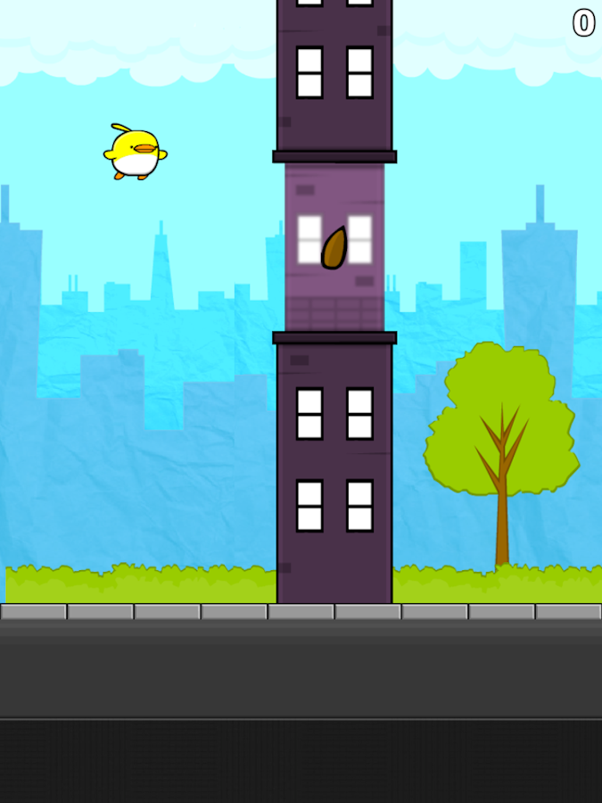 Flappy The City Flyer - screenshot