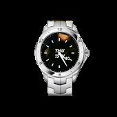 Metal Watch Widget Time