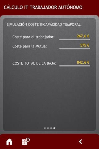 ¿Cuánto cuesta mi baja?- screenshot