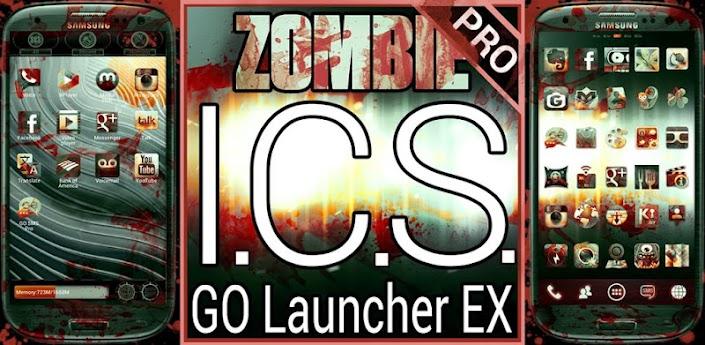Zombie ICS GO Launcher EX apk